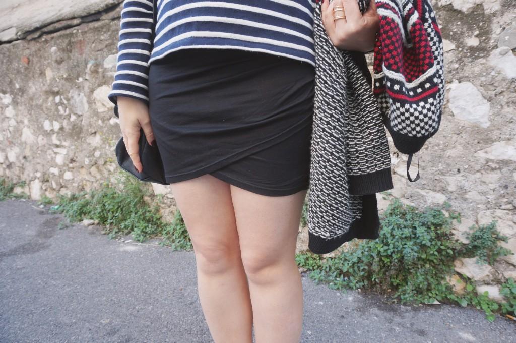 jupe drapée gemo