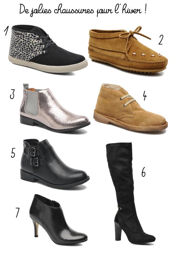 chaussures hiver sarenza