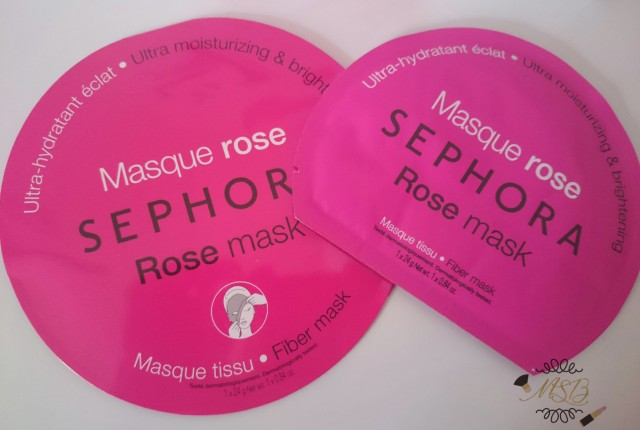 masque rose sephora test