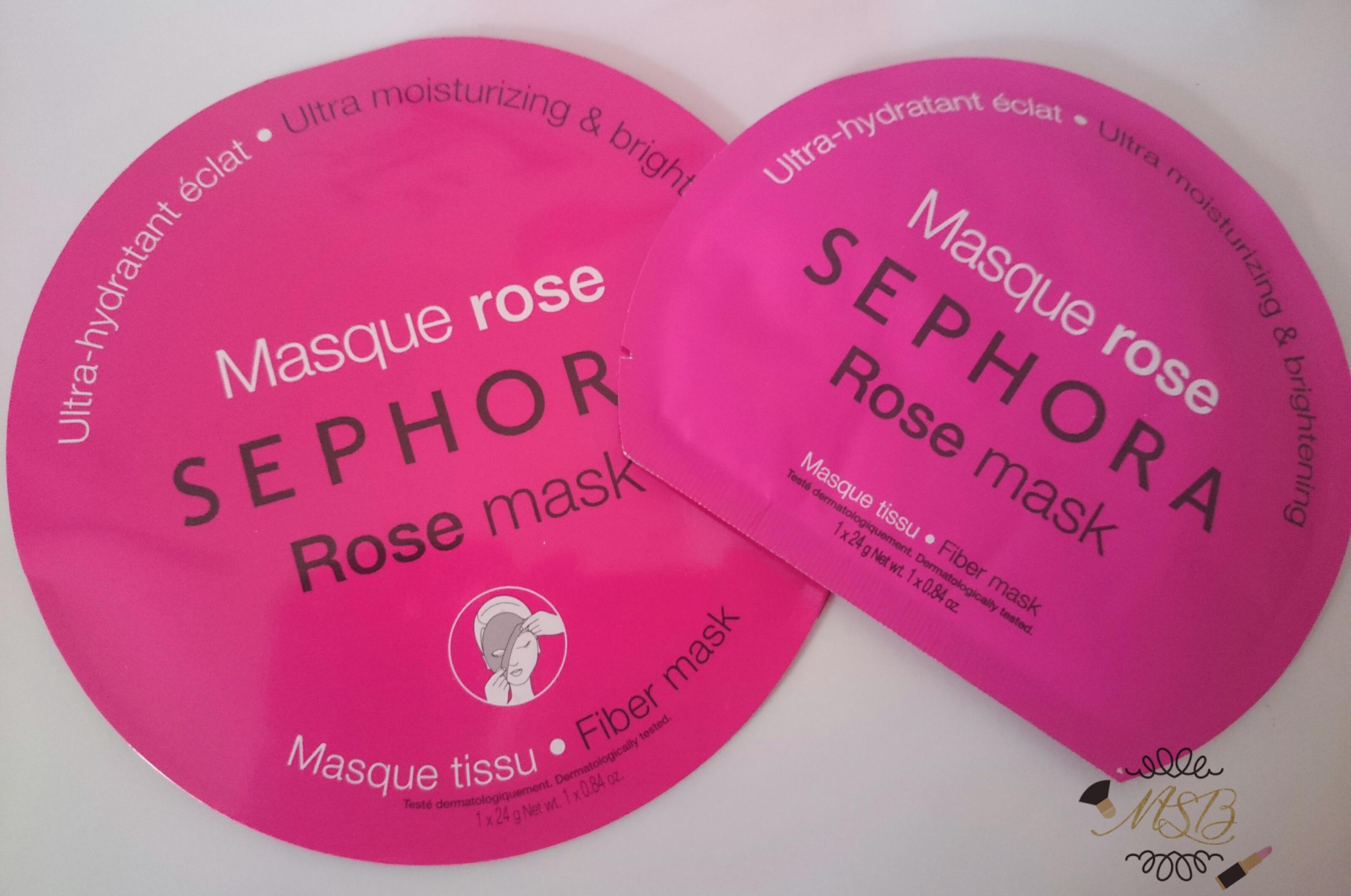 masque rose sephora test