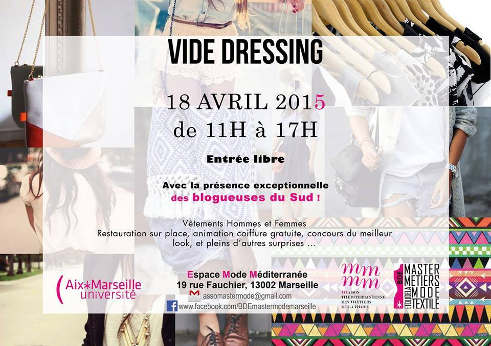vide dressing blog marseille