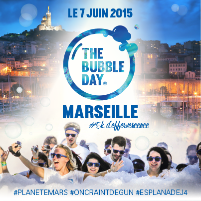 the bubble day marseille