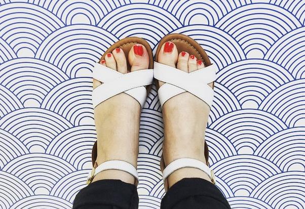 sandales été