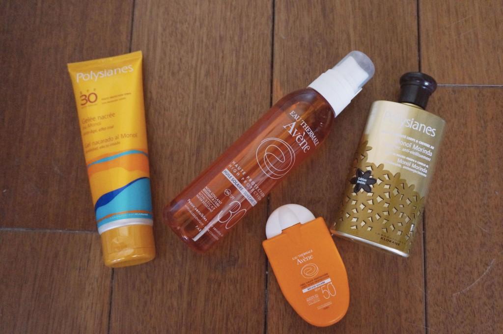 produits solaires peau sensible