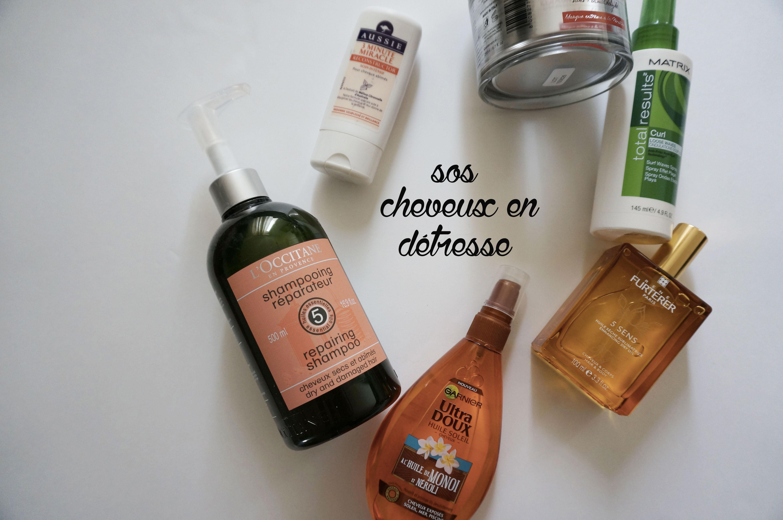 produits cheveux secs