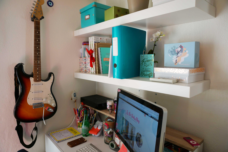 Deco un coin bureau dans 35m2 le so girly blog for Deco cuisine girly