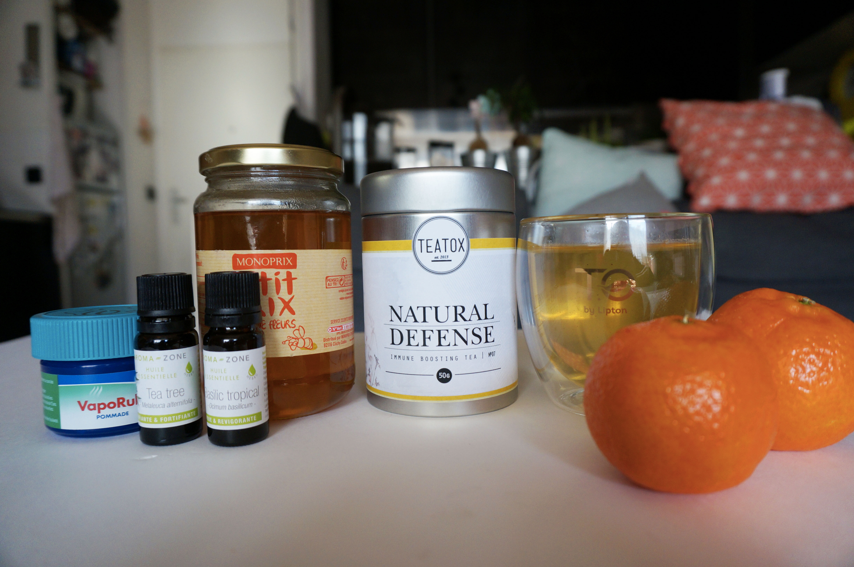 soigner un rhume naturellement