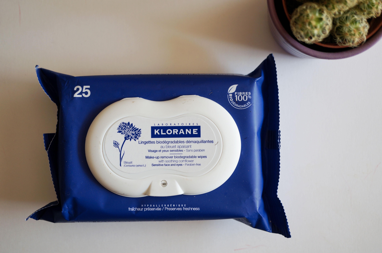 lingettes bleuet klorane