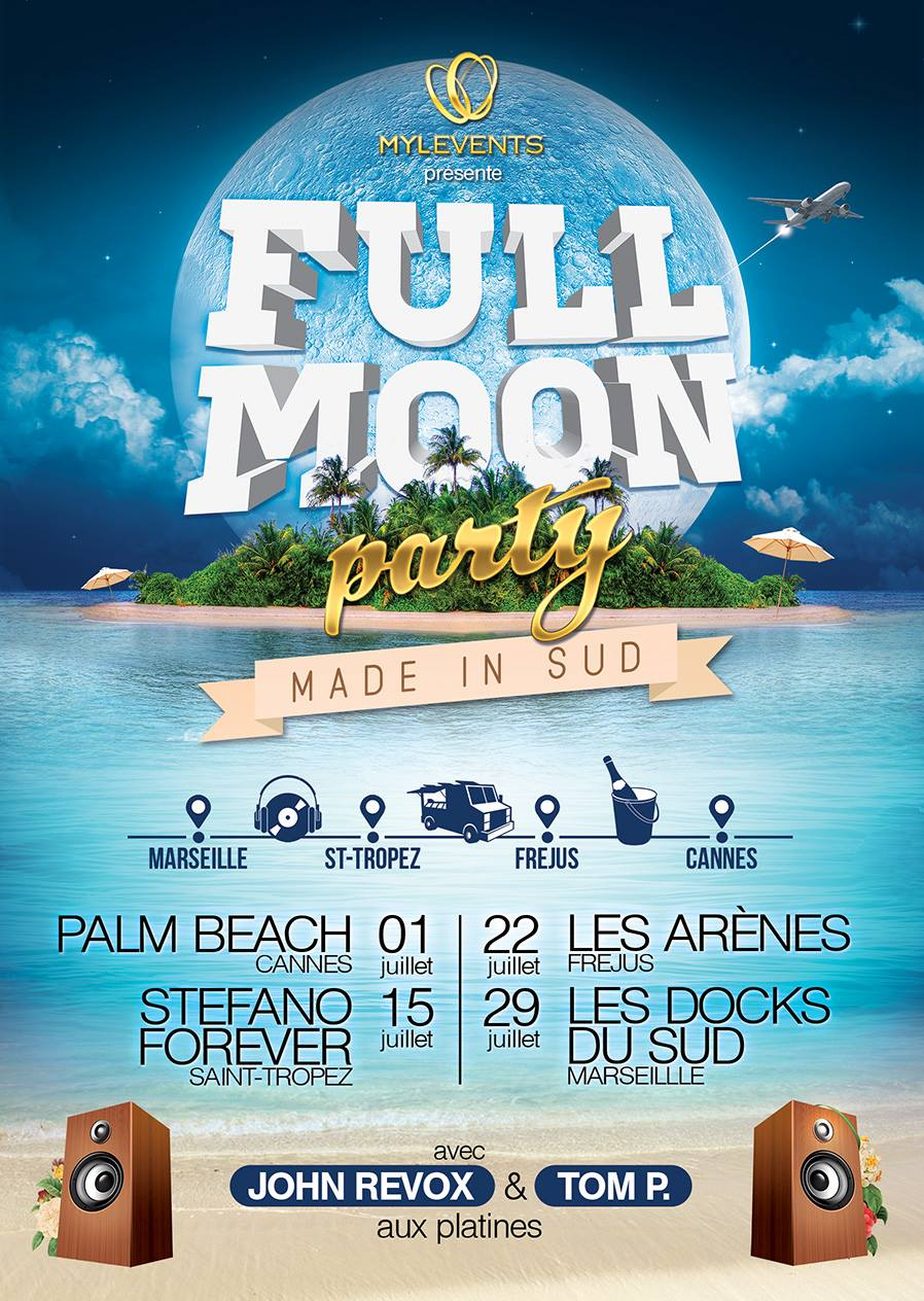 full moon party marseille