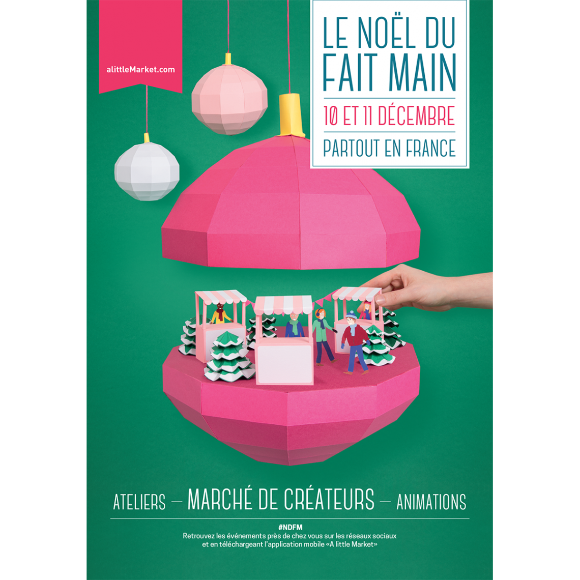 noel du fait main a little market