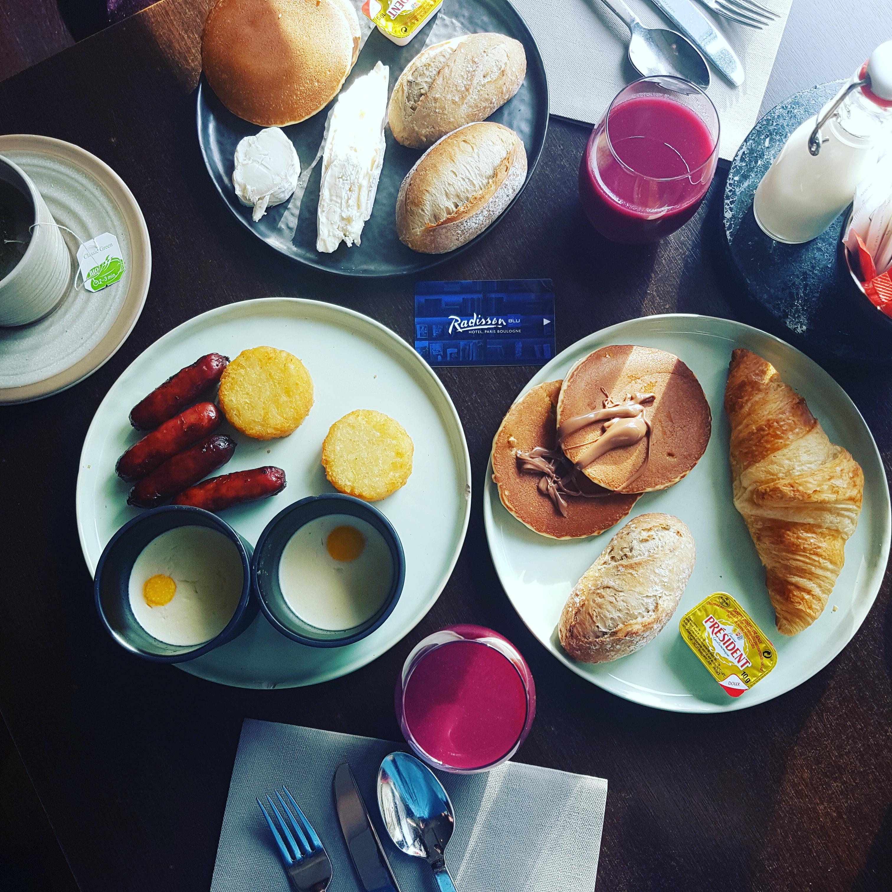 petit déjeuner radisson blu paris boulogne