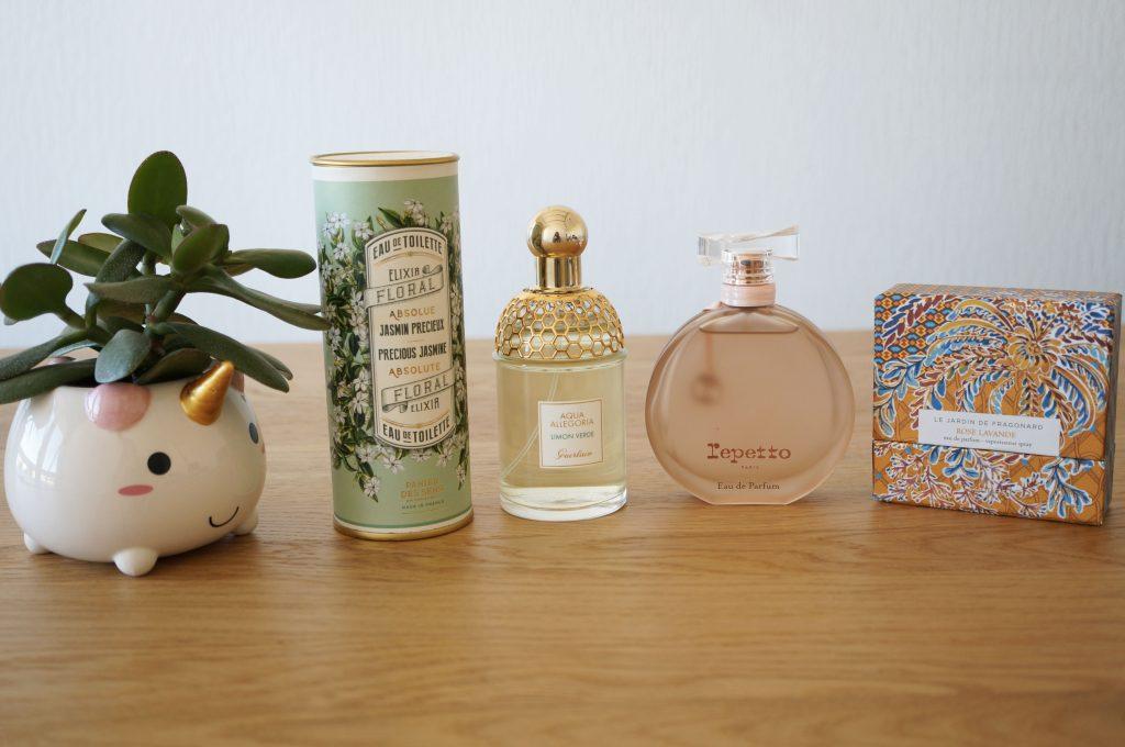 Coups de coeur // Mes 4 parfums du printemps