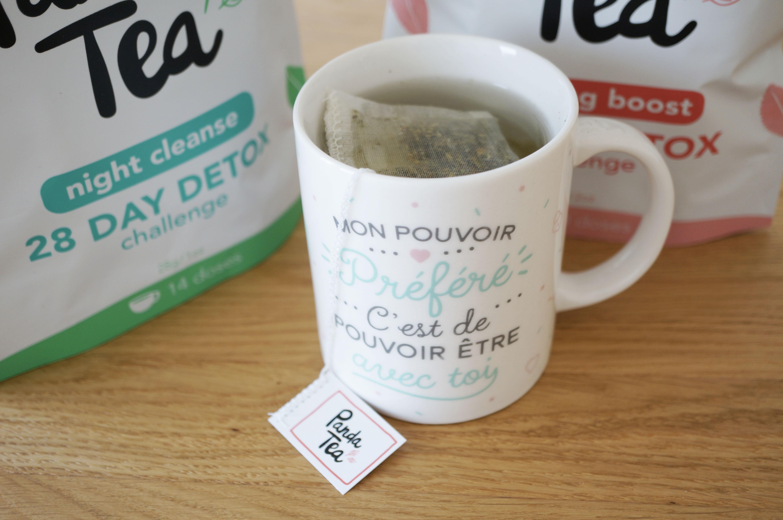 panda tea detox challenge