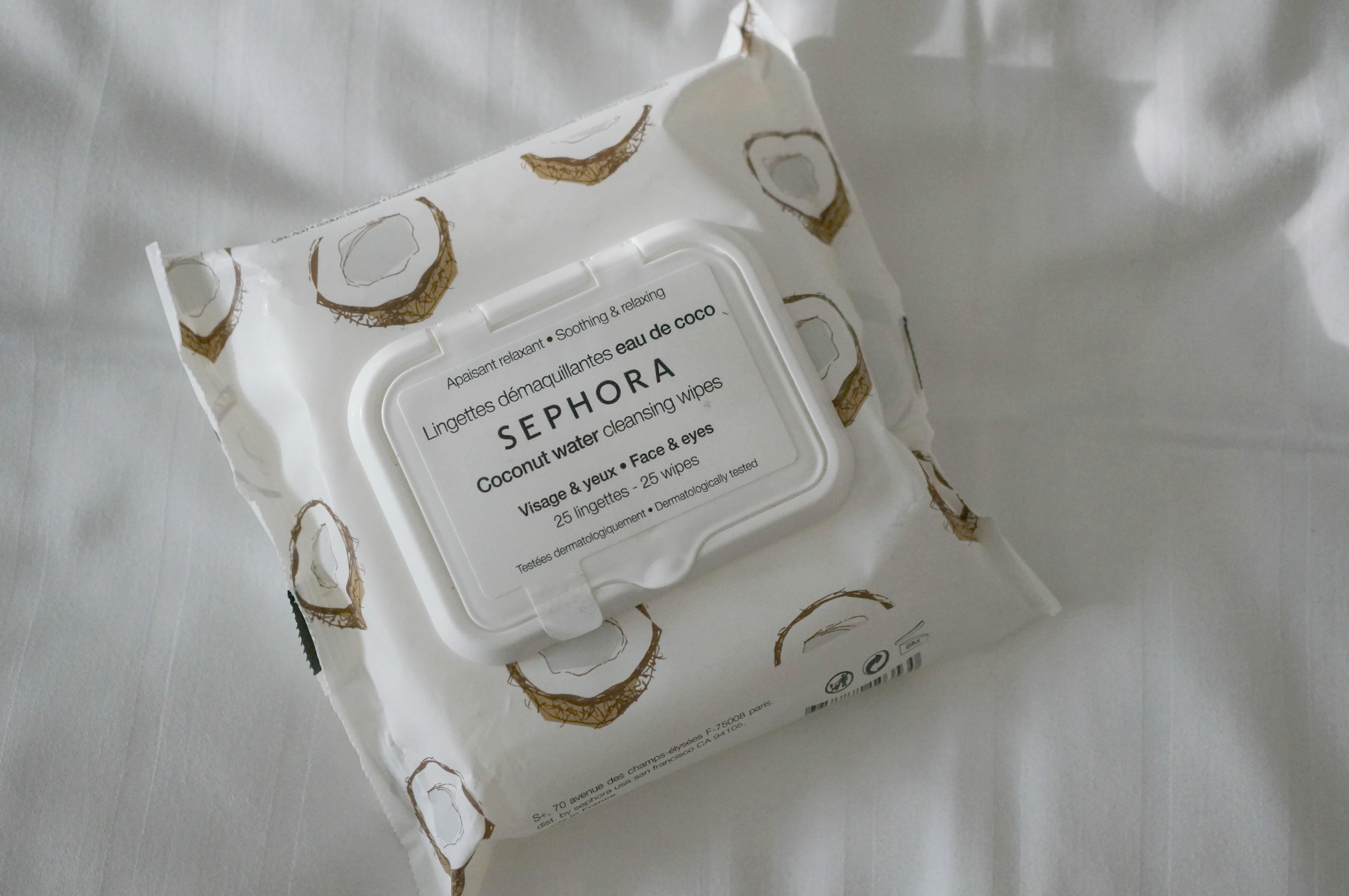 lingettes démaquillantes sephora