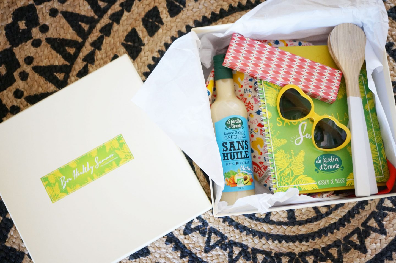 Concours // Gagne ta box healthy summer Le Jardin d'Orante !
