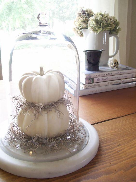 table déco halloween