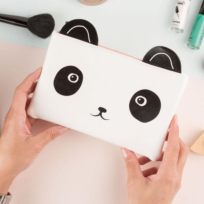 trousse de maquillage panda