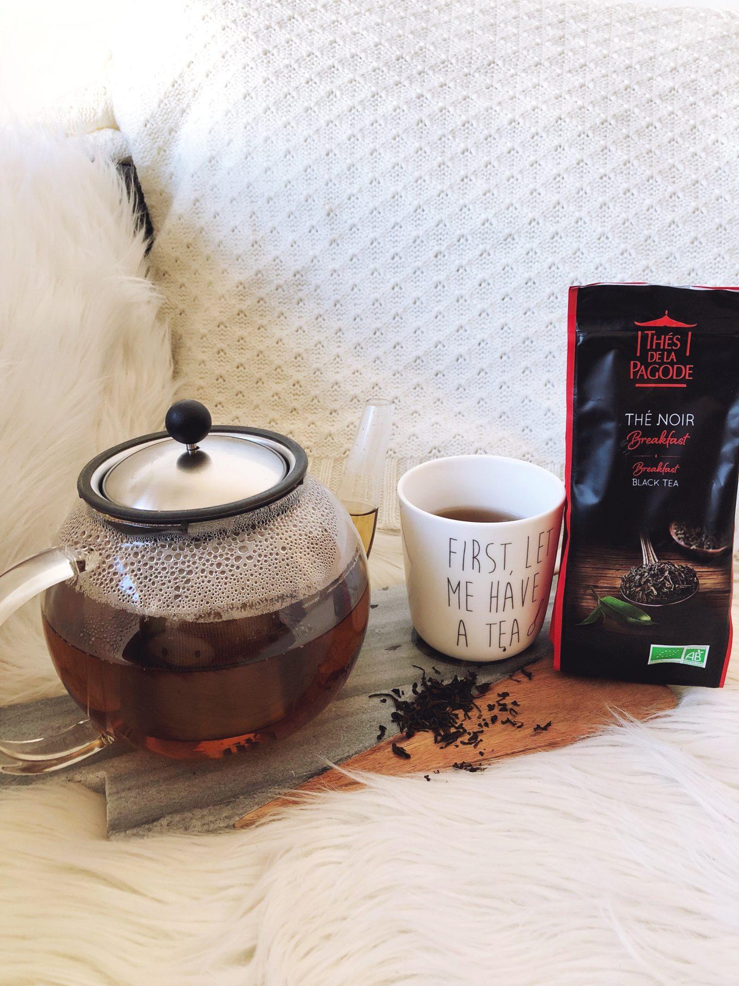 thé breakfast thés de la pagode