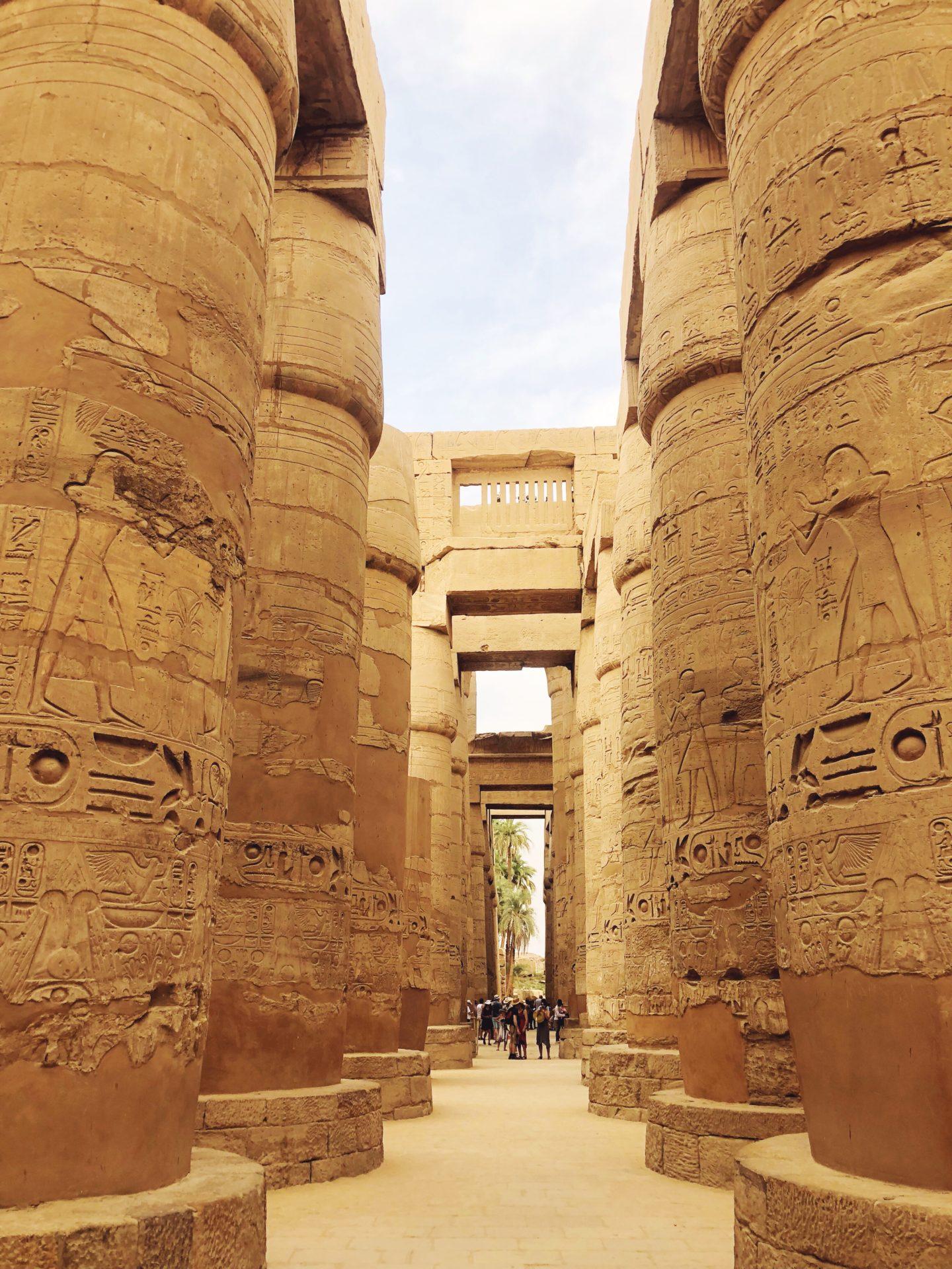 temple de karnak egypte