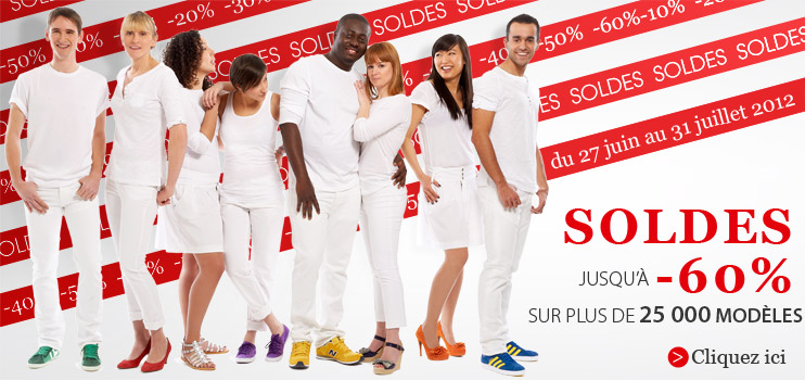 Ma selection 100% soldes chez Spartoo