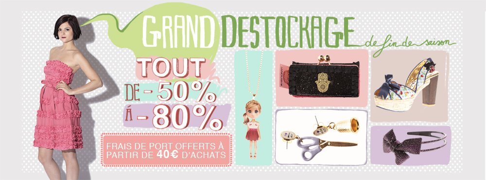 E-shopping de la semaine : Le Destockage de MySweetDressing !