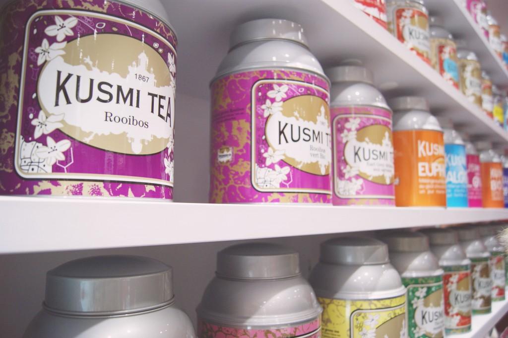 Une Kusmi Tea Party très girly !