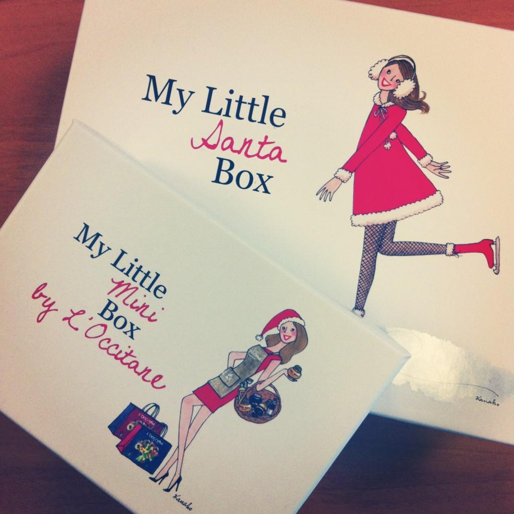 My Little Santa Box & My Little Mini Box by L'Occitane