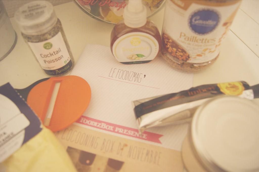 La FoodizBox de Novembre