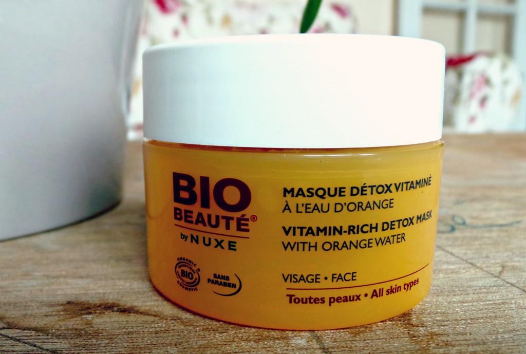 Le masque Détox Vitaminé Bio Beauté de Nuxe
