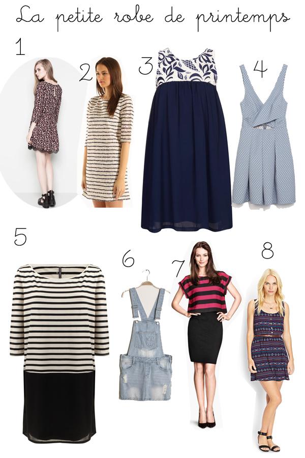 E-shopping de la semaine spécial robes !