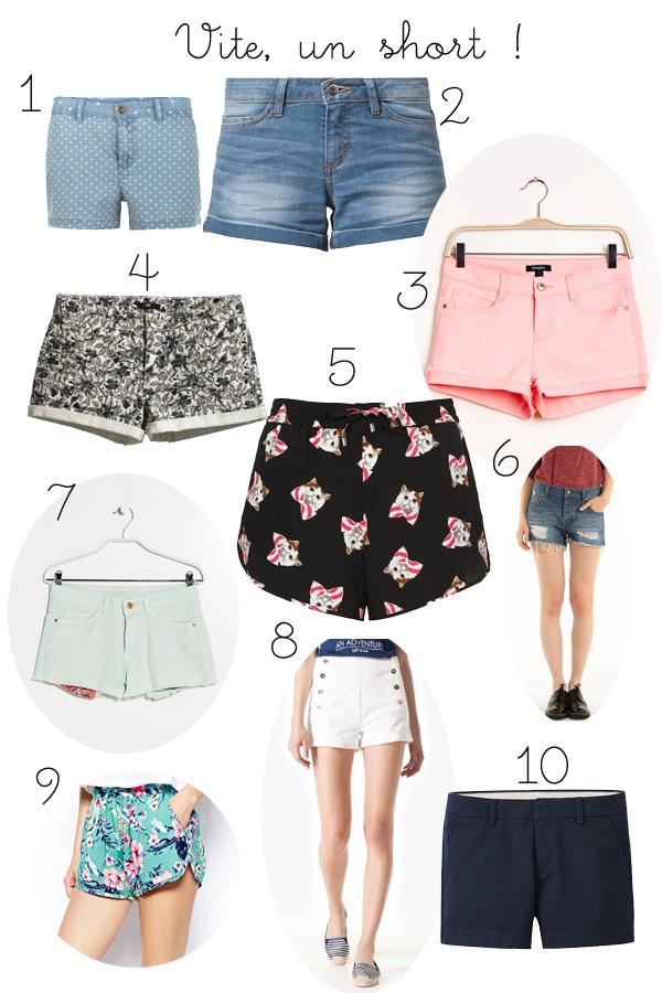 E-shopping de la semaine : Vite, un short !