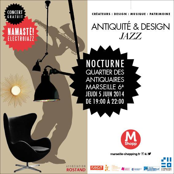 Antiquité & Design Jazz à Marseille
