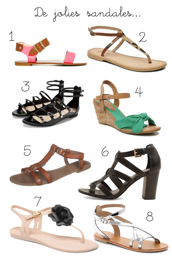 E-shopping de la semaine : Vite, de jolies sandales !