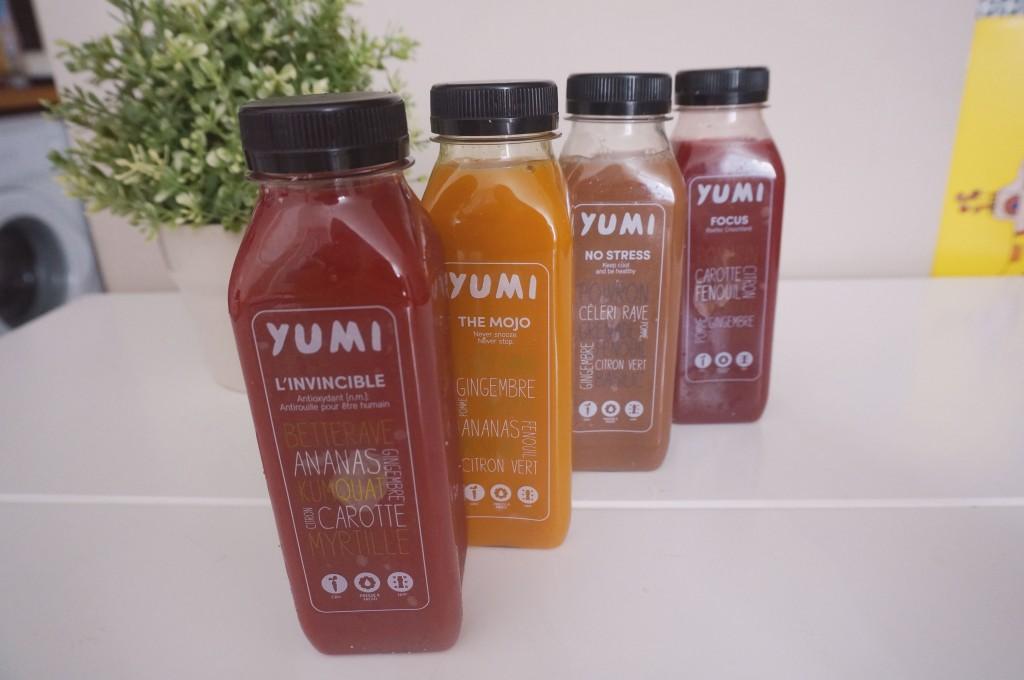 Yumi, les boissons healthy