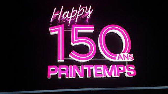 Happy 150 ans Printemps !