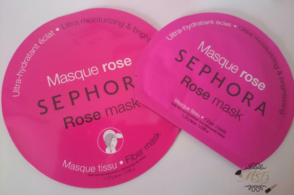 Le masque à la rose Sephora