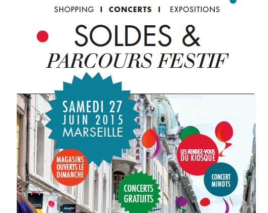 Soldes et parcours festif à Marseille !