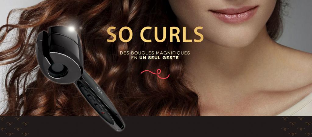 ♡ Vite, des boucles magnifiques grâce à So Curls de Calor ! ♡