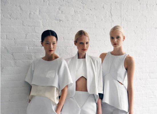 E-shopping : Tout de blanc vêtue !