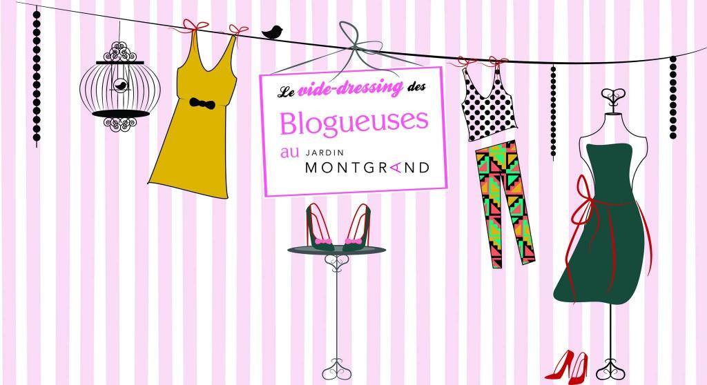 Le vide-dressing des Blogueuses au Jardin Montgrand