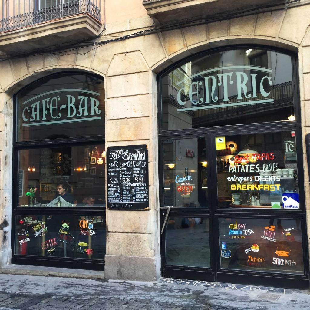Cèntric // Tapas à Barcelone