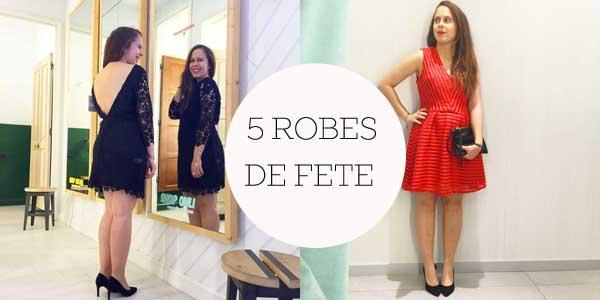 Mode // 5 robes pour les fêtes