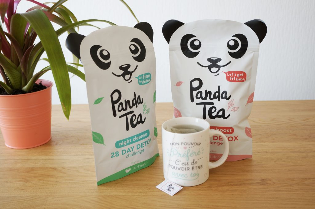 Tea Time // Les thés detox Panda Tea