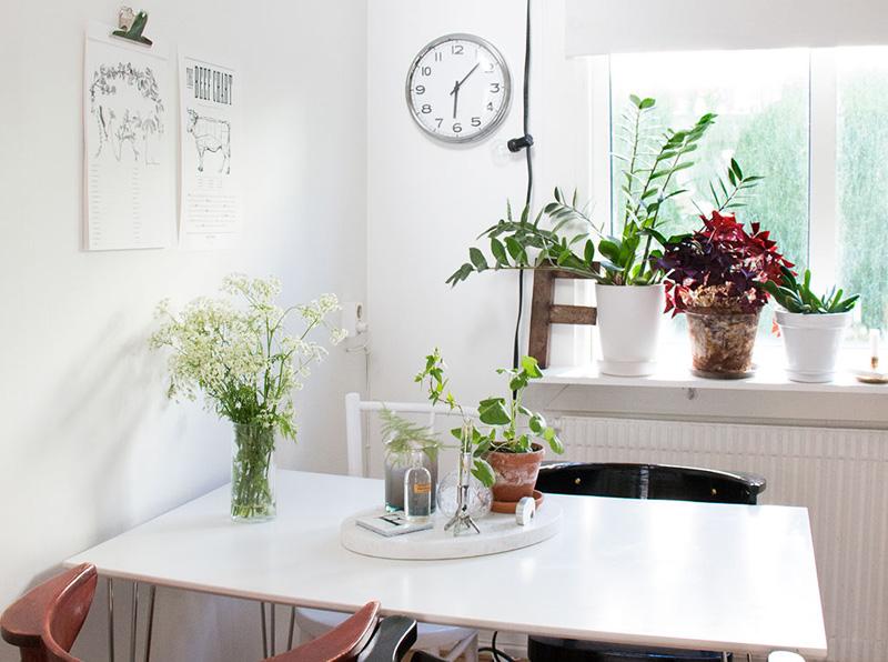 Deco // Un joli appartement à la déco scandinave