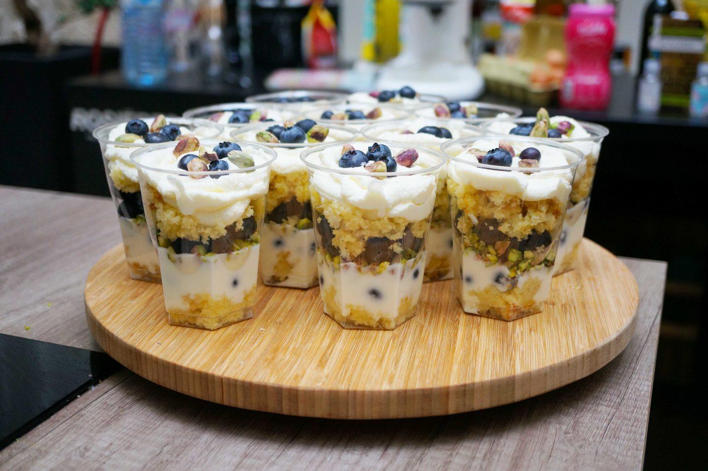 atelier danone verrines yaourt