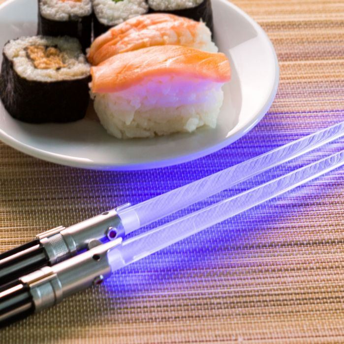 baguettes sushi star wars