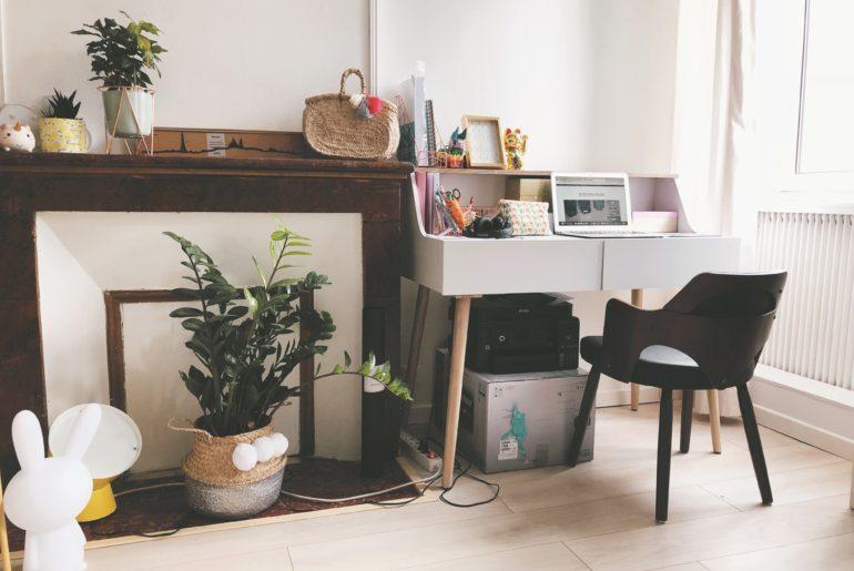 décorer un coin bureau