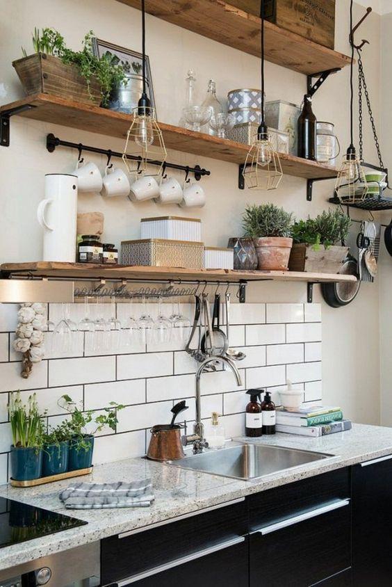 déco petite cuisine - Le So Girly Blog