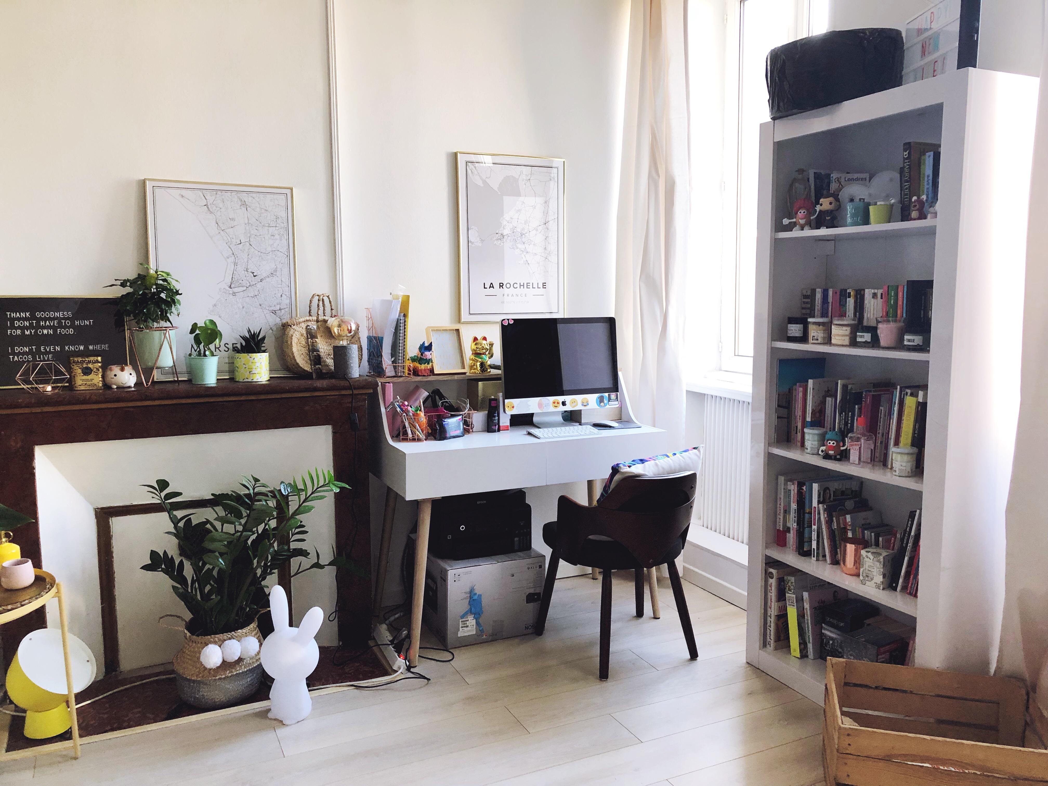 La Décoration De Salon la déco girly scandinave de mon salon - le so girly blog