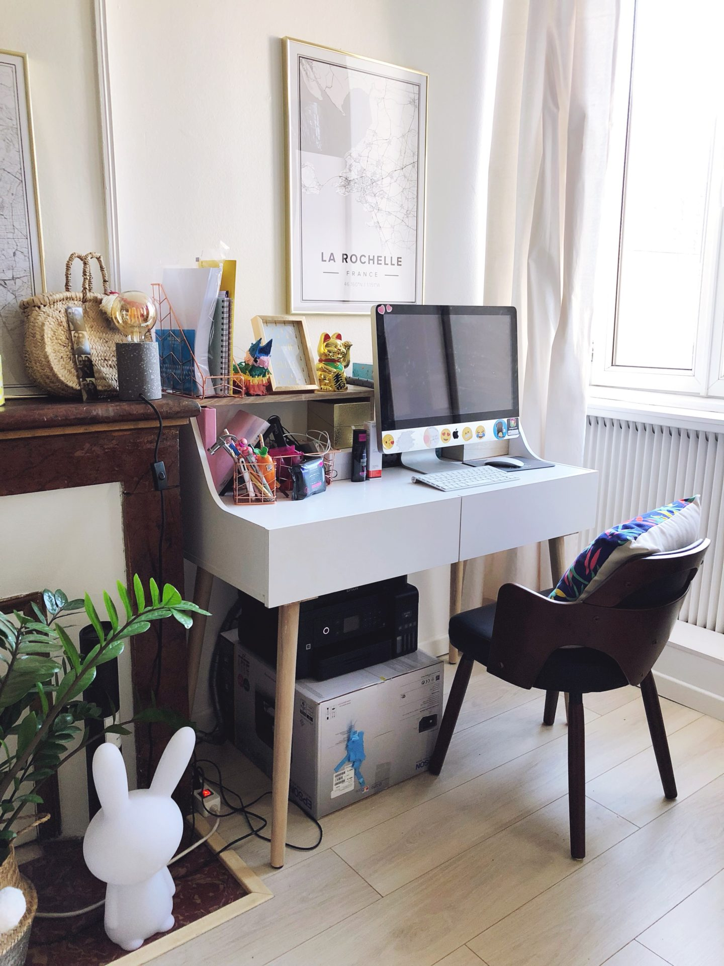 déco appartement girly